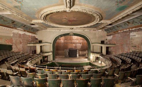 The Orpheum Theatre in Los Angeles, CA.