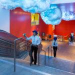 NIMBUS Sound Installation Walt Disney Concert Hall lobby