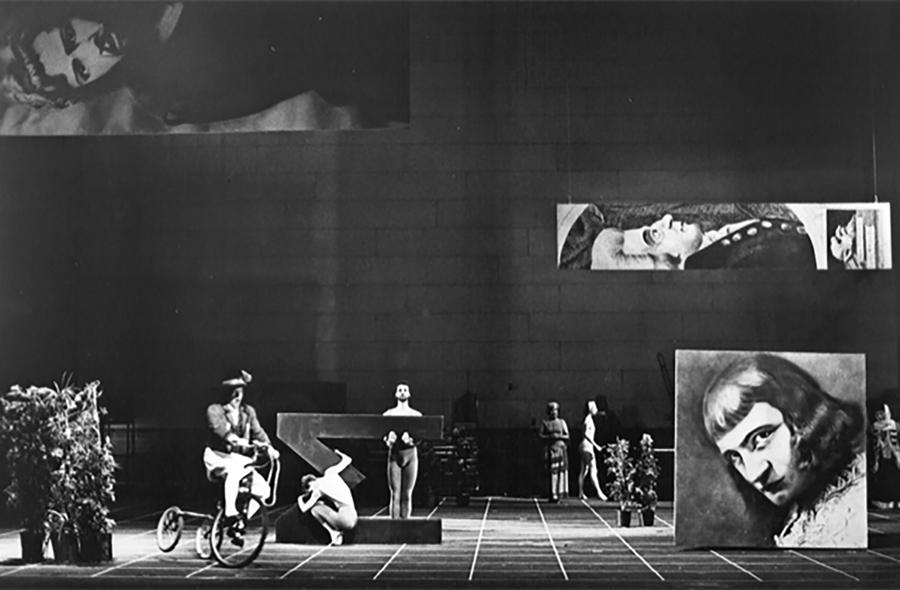 John Cage, Europeras 1 & 2 (1987) Pepsico Summerfare, 1988 Photographer: Beatriz Schiller Courtesy of the John Cage Trust