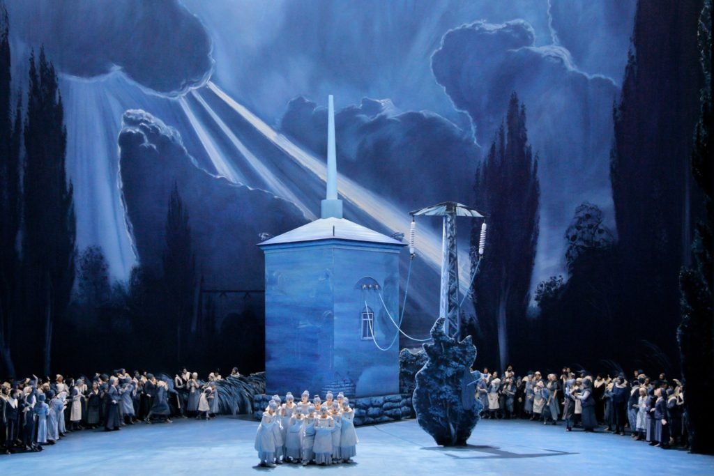 Yuval Sharon's July 2018 production of Lohengrin at Bayreuth