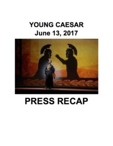 Young Caesar Press Cover